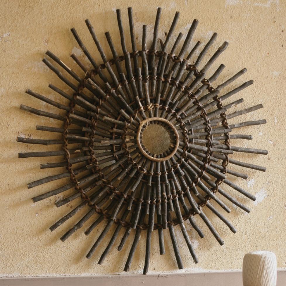 20 best collection of sunburst metal wall art. Black Bedroom Furniture Sets. Home Design Ideas