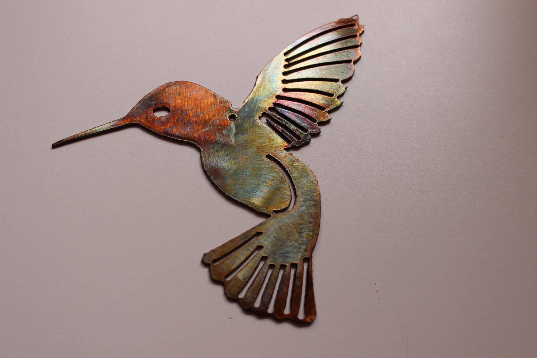 Wall Art Design Ideas: May Stunning Hummingbird Metal Wall Art In Latest Metal Wall Art Animals (View 15 of 20)