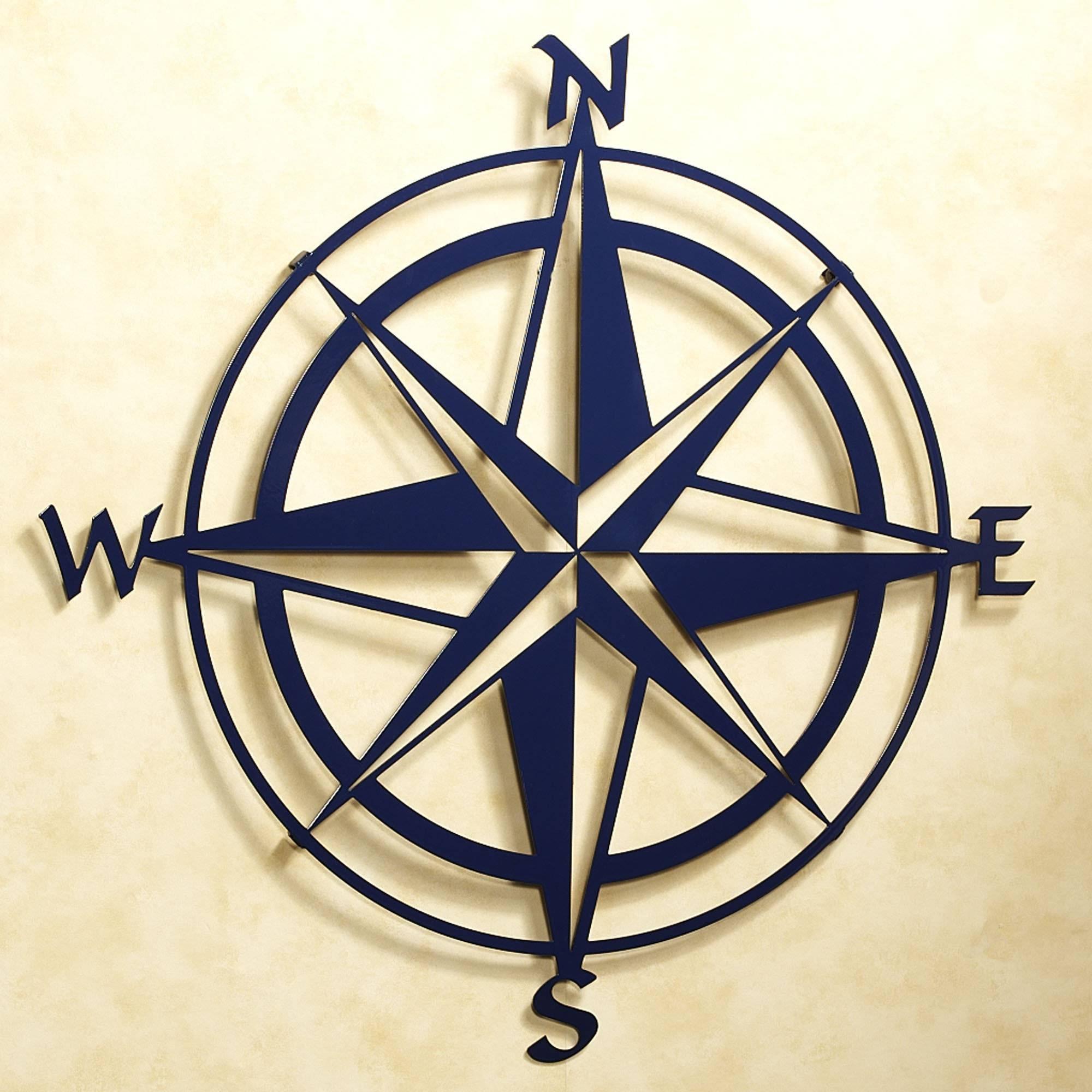 Wall Art Design Ideas: Nautical Metal Compass Rose Wall Art Within Most Recent Nautical Metal Wall Art (View 1 of 20)
