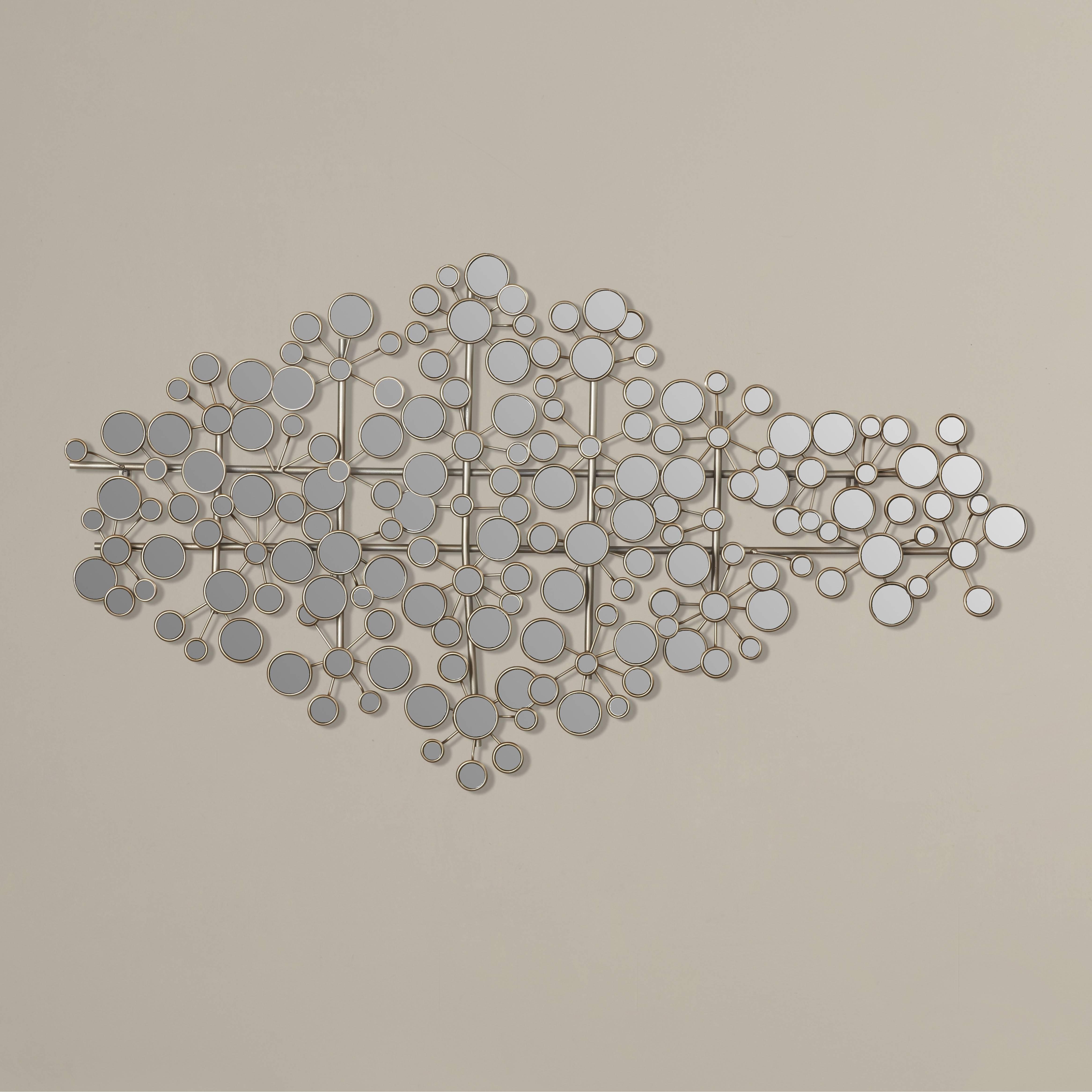 Wall Art Design Ideas: Wayfair Brushed Nickel Wall Art Sample Regarding 2018 Brushed Metal Wall Art (View 16 of 20)