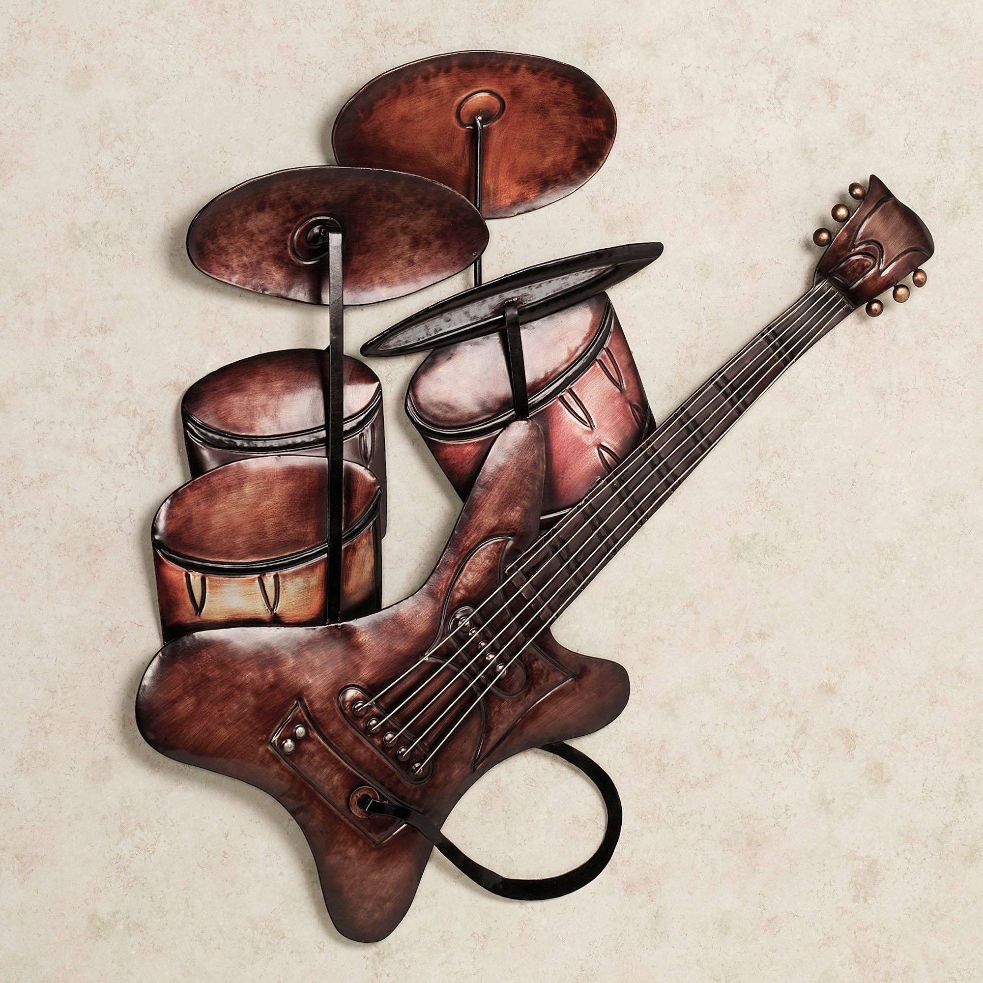 Wall Art Design: Music Metal Wall Art Rhythm And Beats Metal Wall For Most Recent Musical Instruments Metal Wall Art (View 6 of 20)