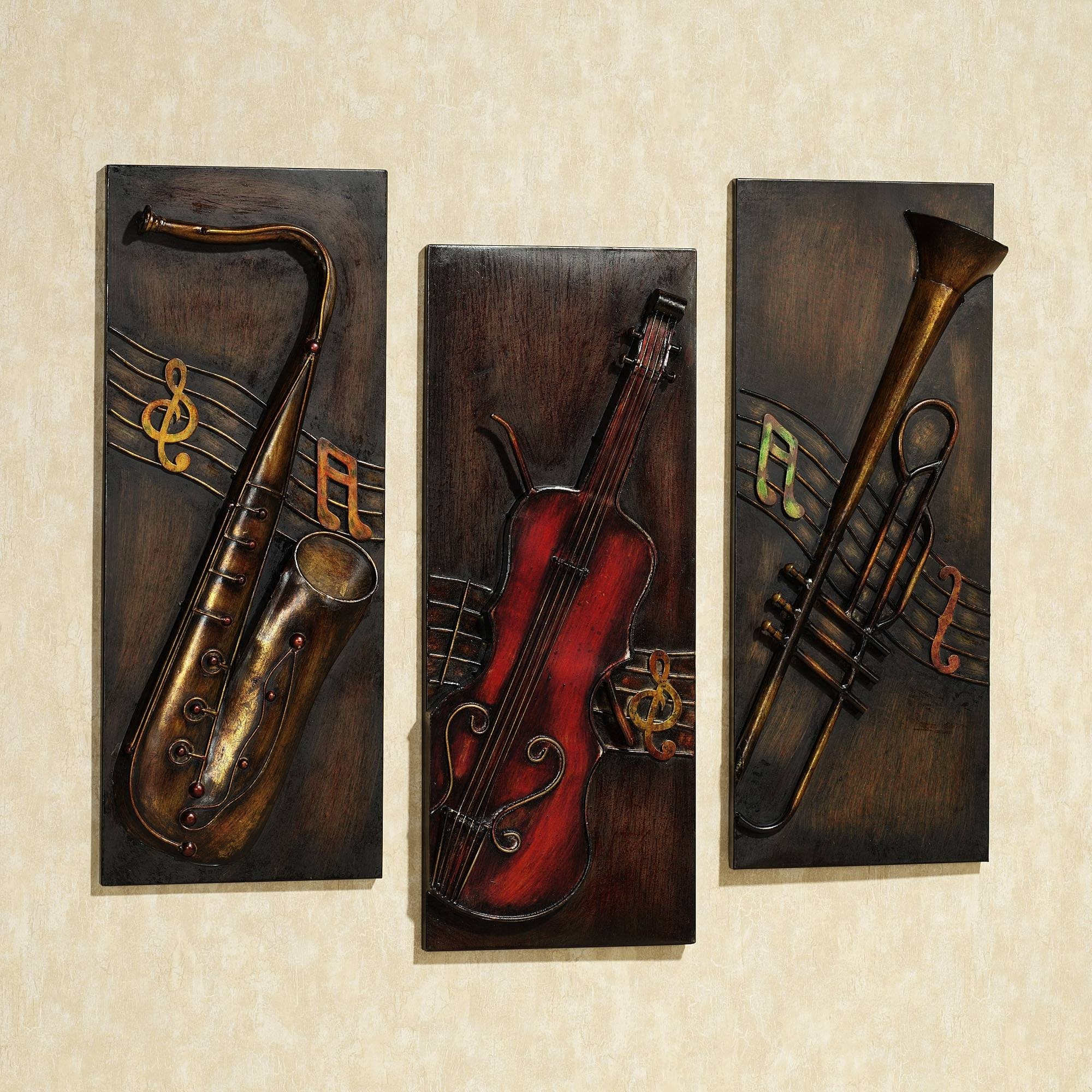 Featured Photo of Jazz It Up Metal Wall Art