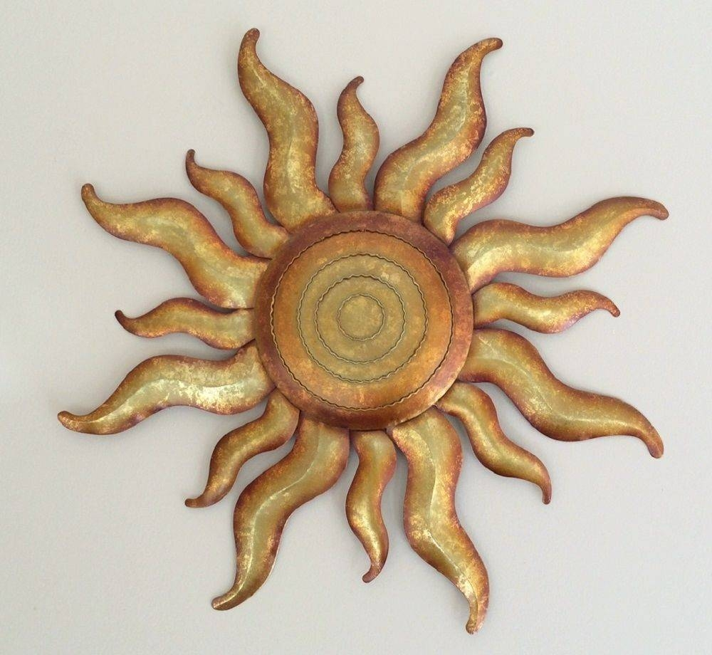 Wall Art Designs: Awesome Metal Sun Wall Art, Metal Sun Wall Throughout Current Sunburst Metal Wall Art (View 14 of 20)