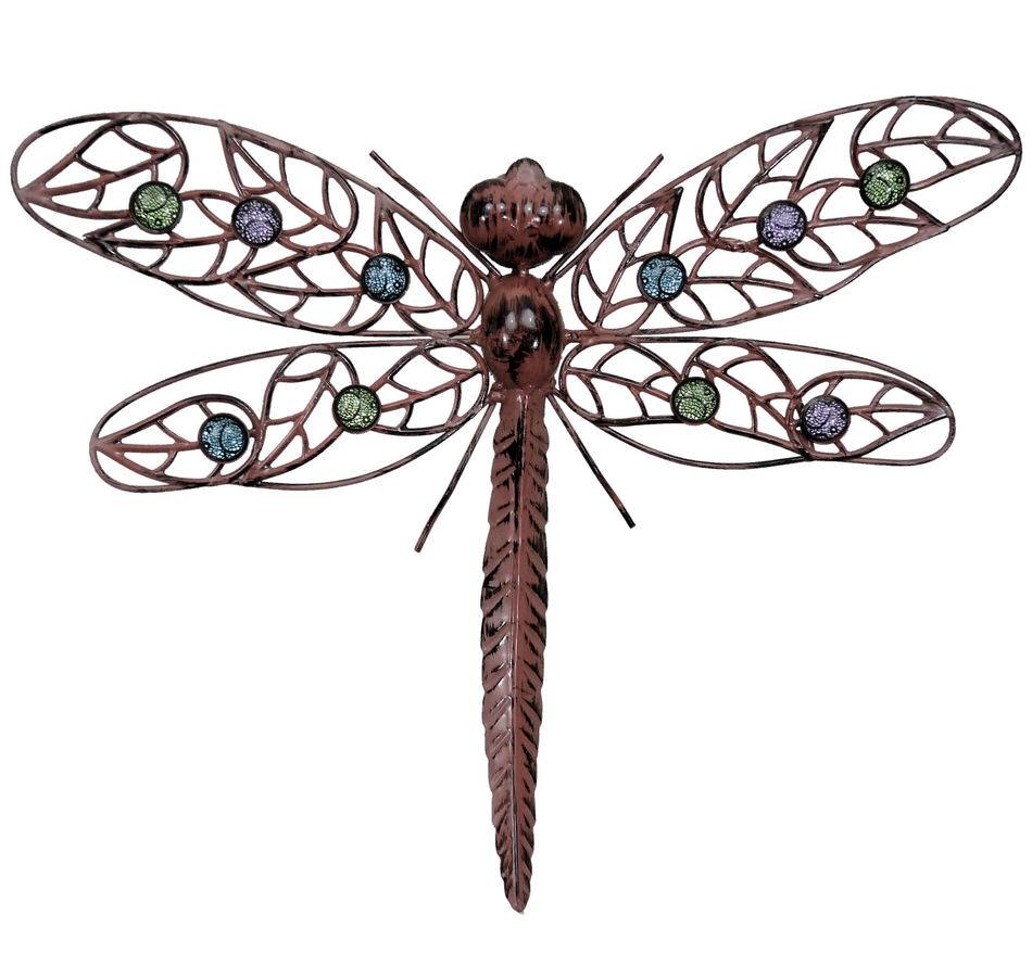 Wall Art Designs: Dragonfly Wall Art Metal Wal Art Hanging With Most  Recently Released Dragonfly