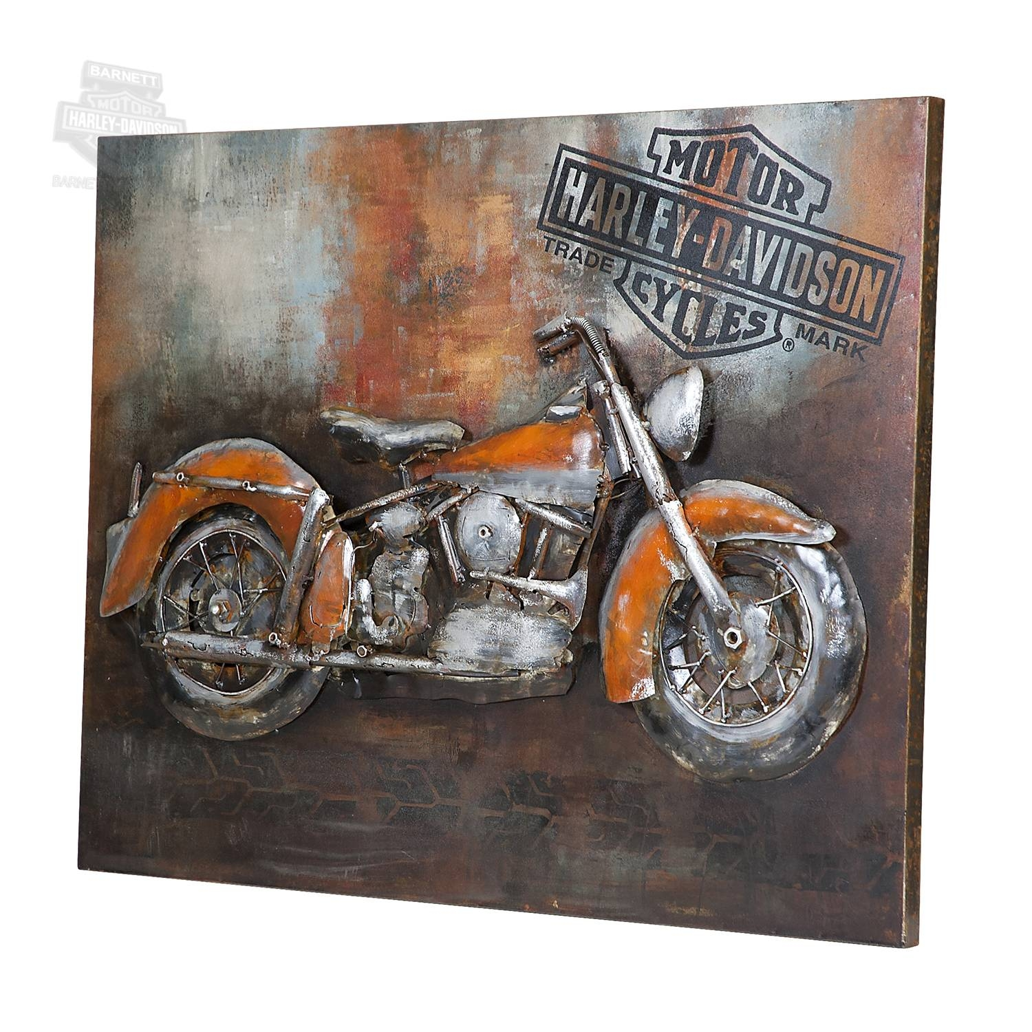 Featured Photo of Motorcycle Metal Wall Art