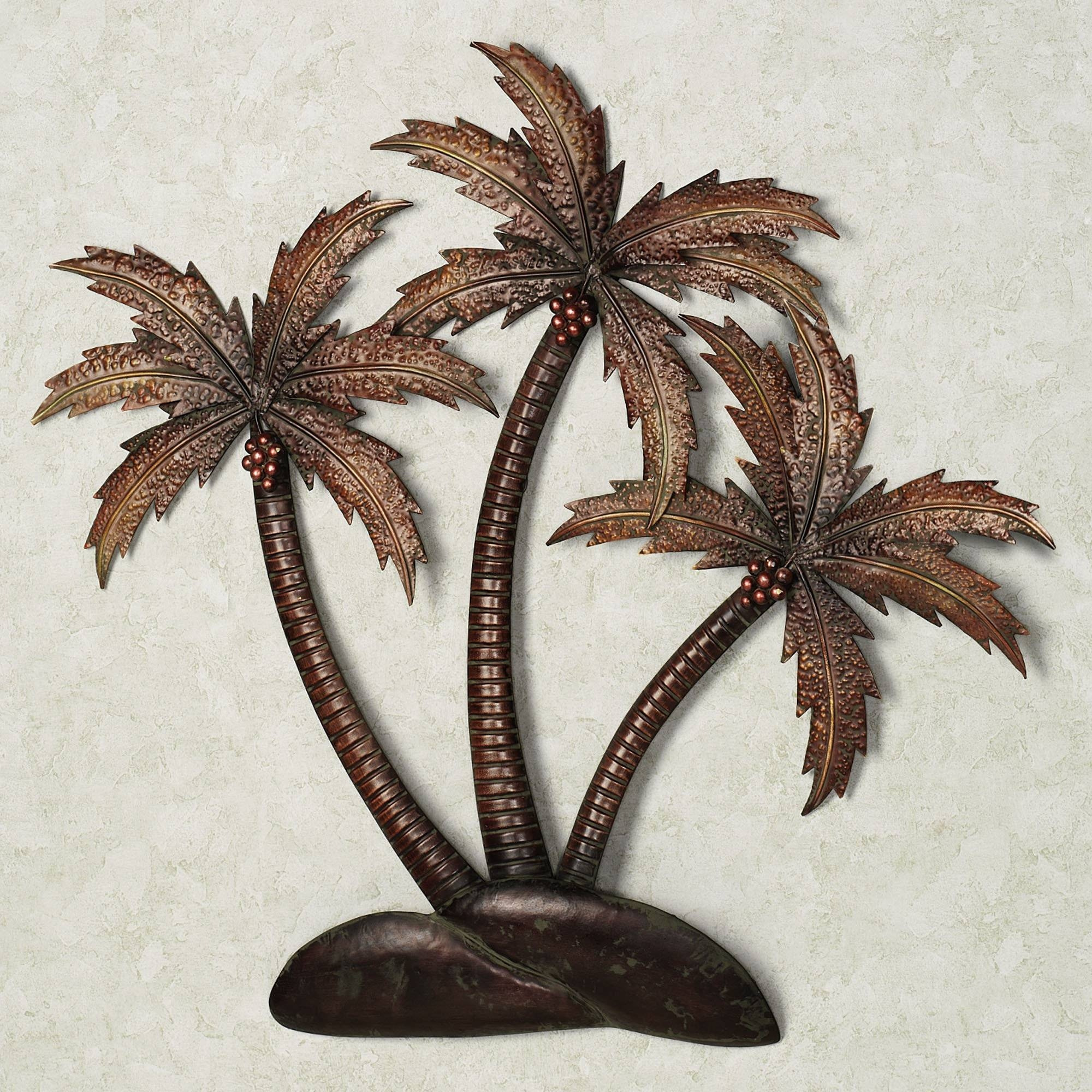 Wall Art Designs: Metal Palm Tree Wall Art Luxury On Large Wall Inside Most Recently Released Bronze Metal Wall Art (View 18 of 20)