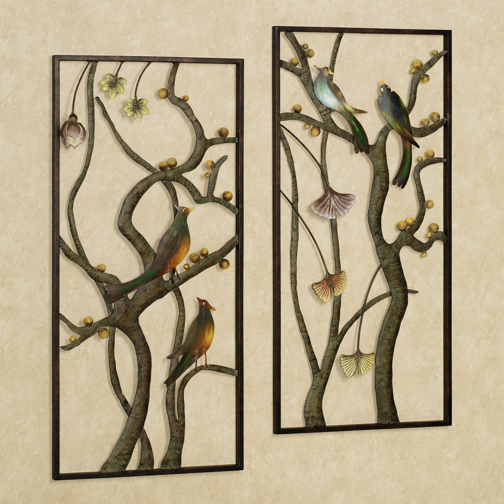 Featured Photo of Outdoor Metal Wall Art Panels