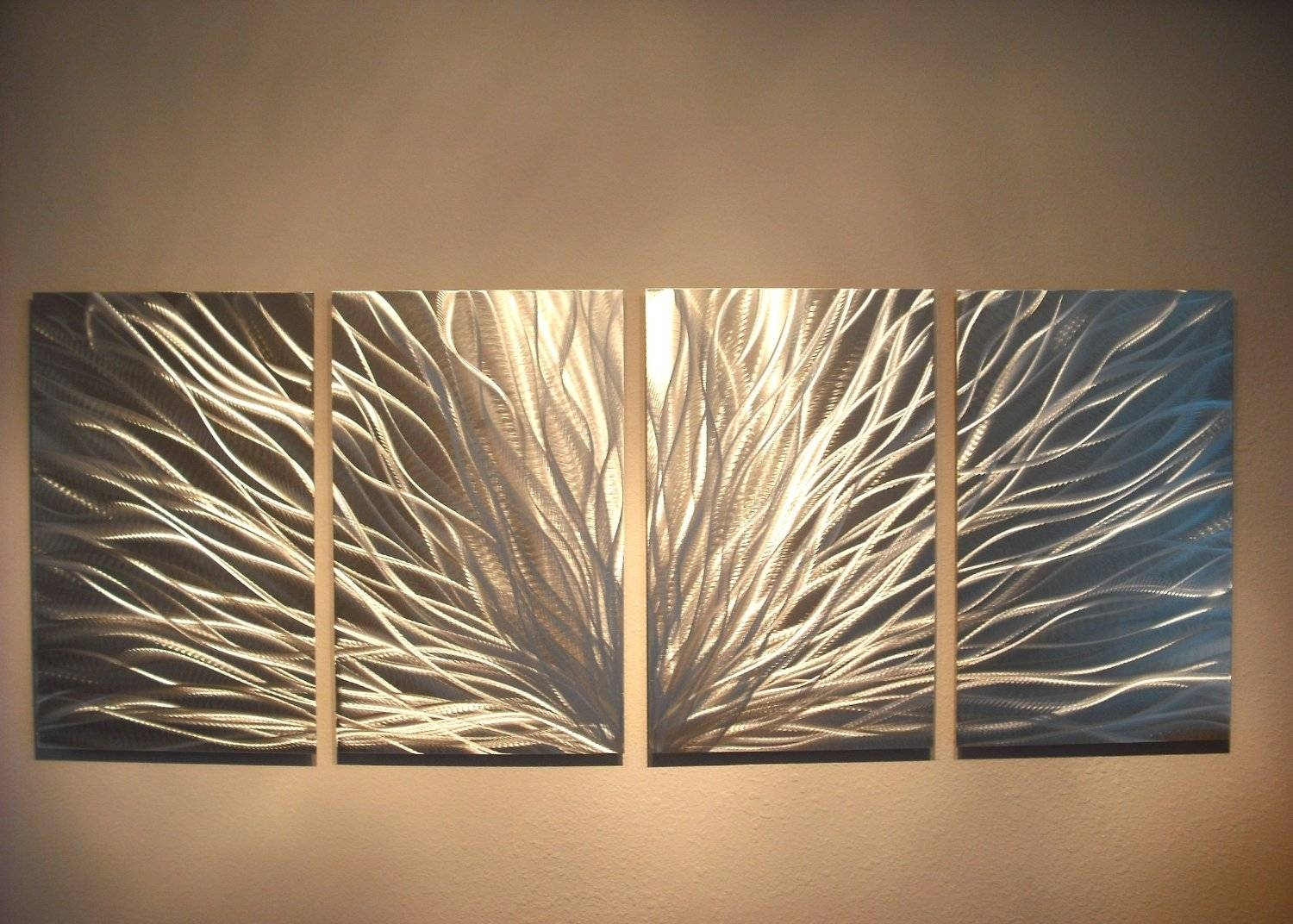 Wall Art Designs: Modern Abstract Wall Art Brown Cheap Pertaining To Newest Cheap Abstract Metal Wall Art (View 2 of 20)
