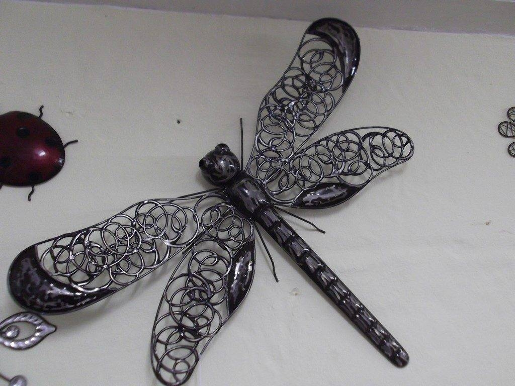 Beautiful Wall Art Designs: Nice Dragonfly Wall Art, Dragonfly Wall Hangings  Regarding Most Popular Dragonfly