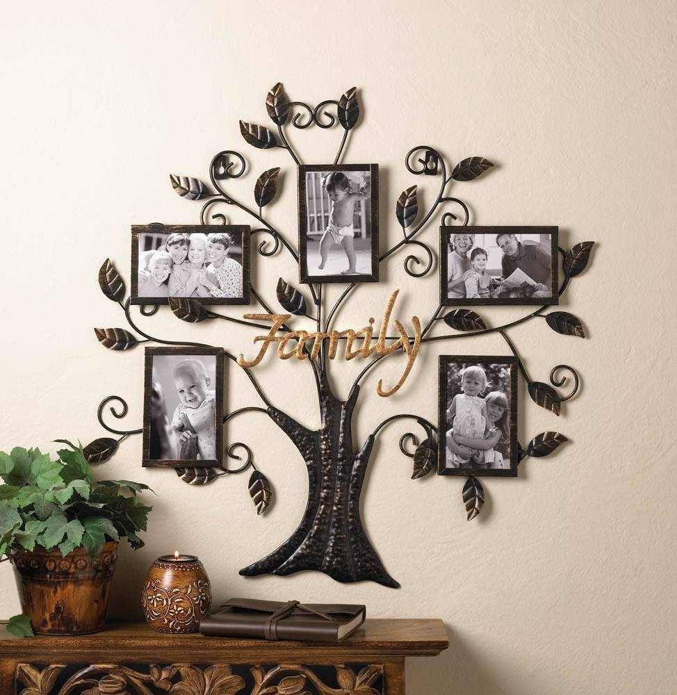 Wall Art Designs: Personalized Wall Art Beautiful Metal Family Pertaining To Latest Unique Metal Wall Art Decors (View 15 of 20)