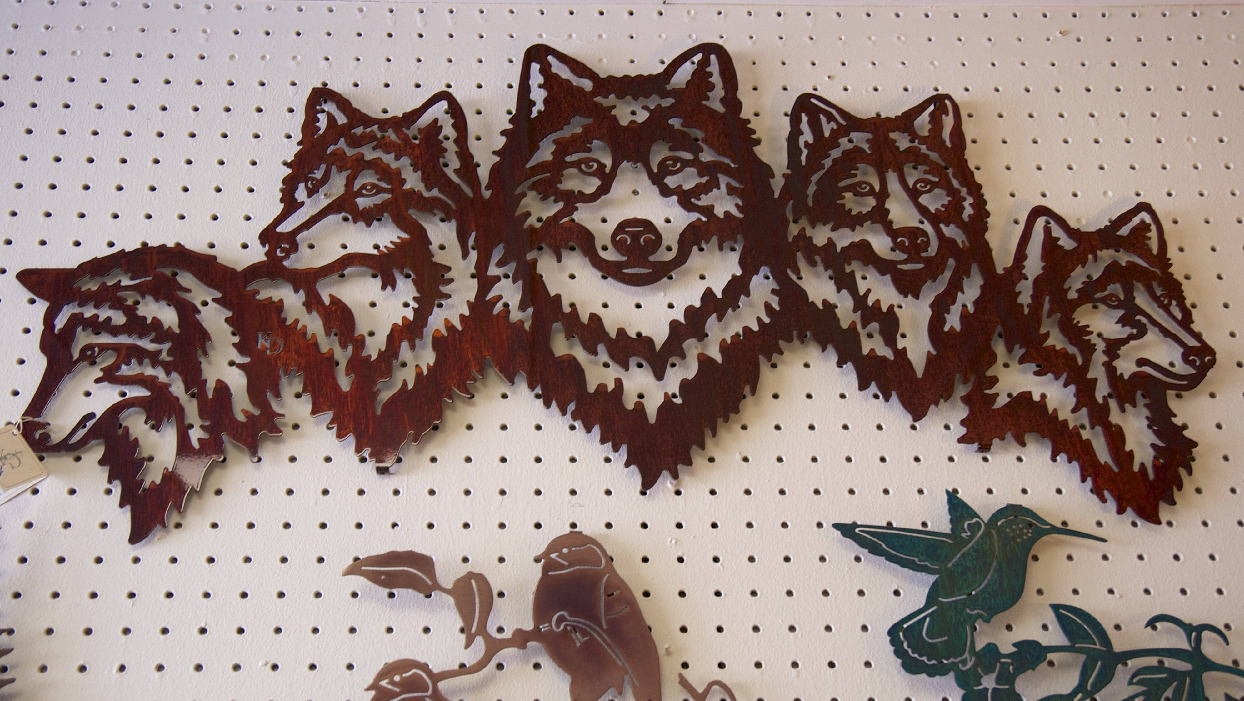Featured Photo of Metal Wall Art Animals