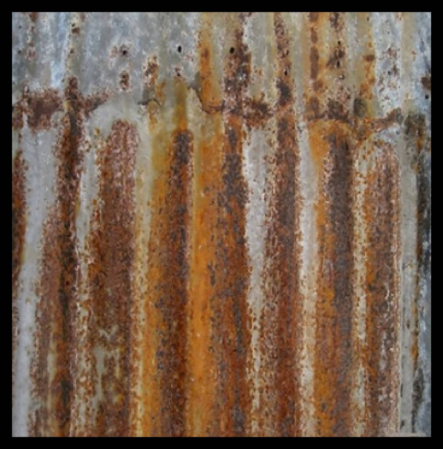 """Wall Art – """"rustic Tin"""" 