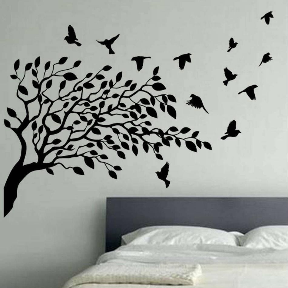 Wall Art: Simple Decorating Birds Wall Art Wood Bird Wall Art Regarding Newest Metal Wall Art Birds In Flight (View 4 of 20)