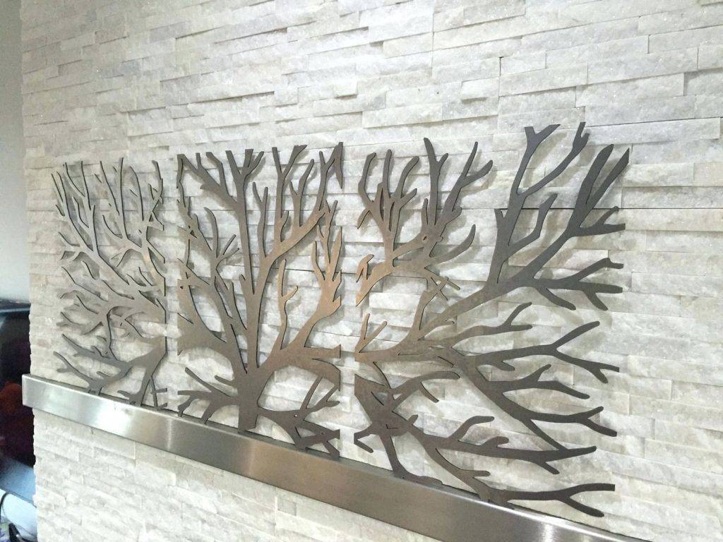 Wall Arts ~ 3D Wall Art 3D Metal Decor Metal Wall Art Decor 3D With Regard To Most Current 3 Piece Metal Wall Art (View 14 of 20)