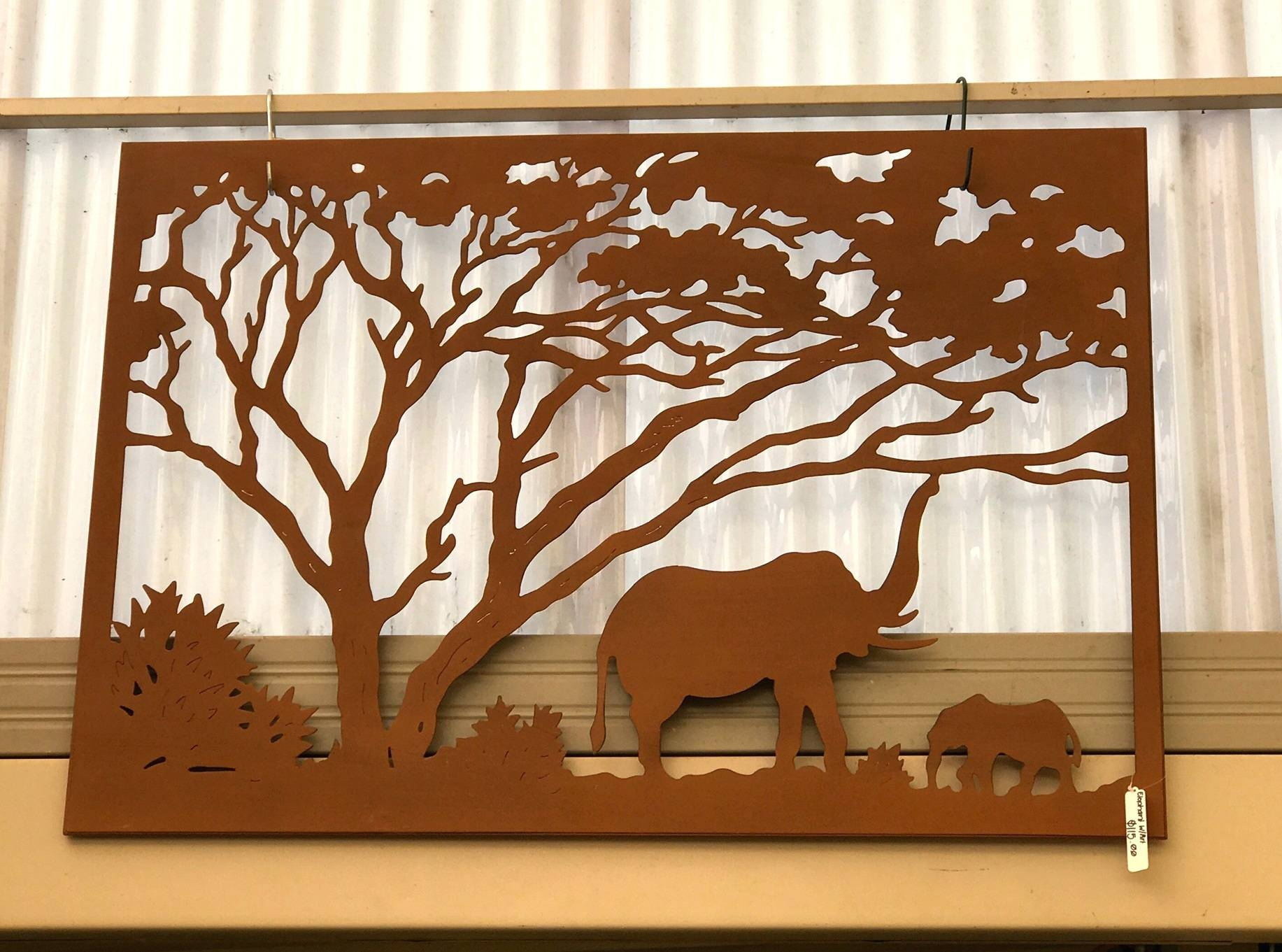 Wall Arts ~ African Elephant Wall Art Elephant Metal Wall Art With Regard To Best And Newest Elephant Metal Wall Art (View 9 of 20)
