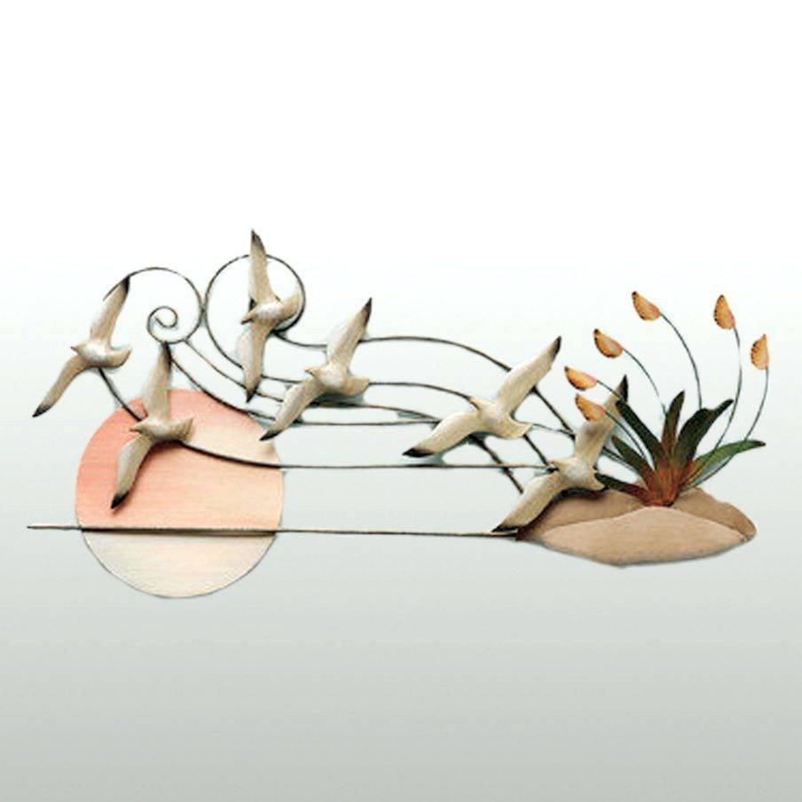 Wall Arts ~ Amazing Wall Decor Seagulls Wall Sculpture Seagull In Most Up To Date Seagull Metal Wall Art (View 13 of 20)