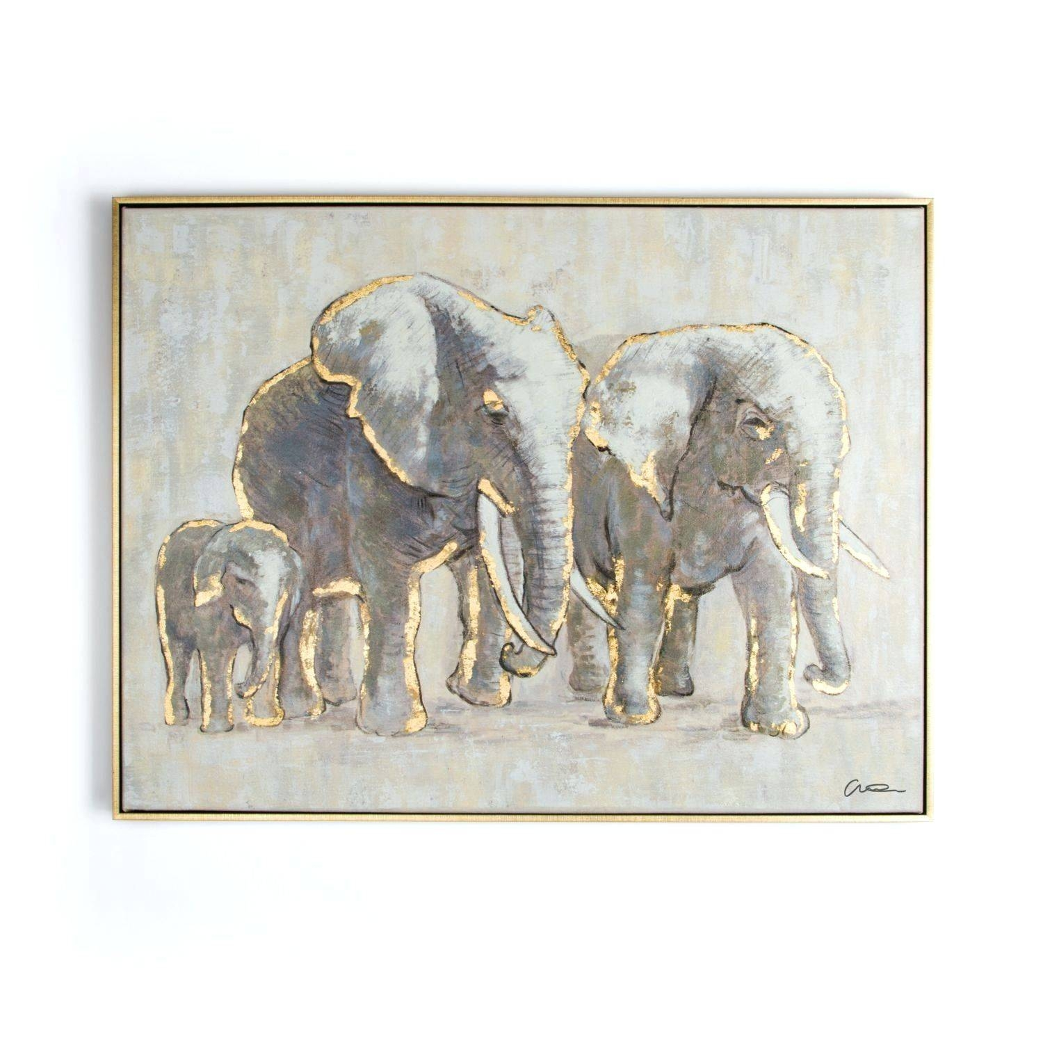 Wall Arts ~ Animal Wall Art Stickers Zoom Animal Metal Wall Art Uk Pertaining To 2018 Elephant Metal Wall Art (View 10 of 20)