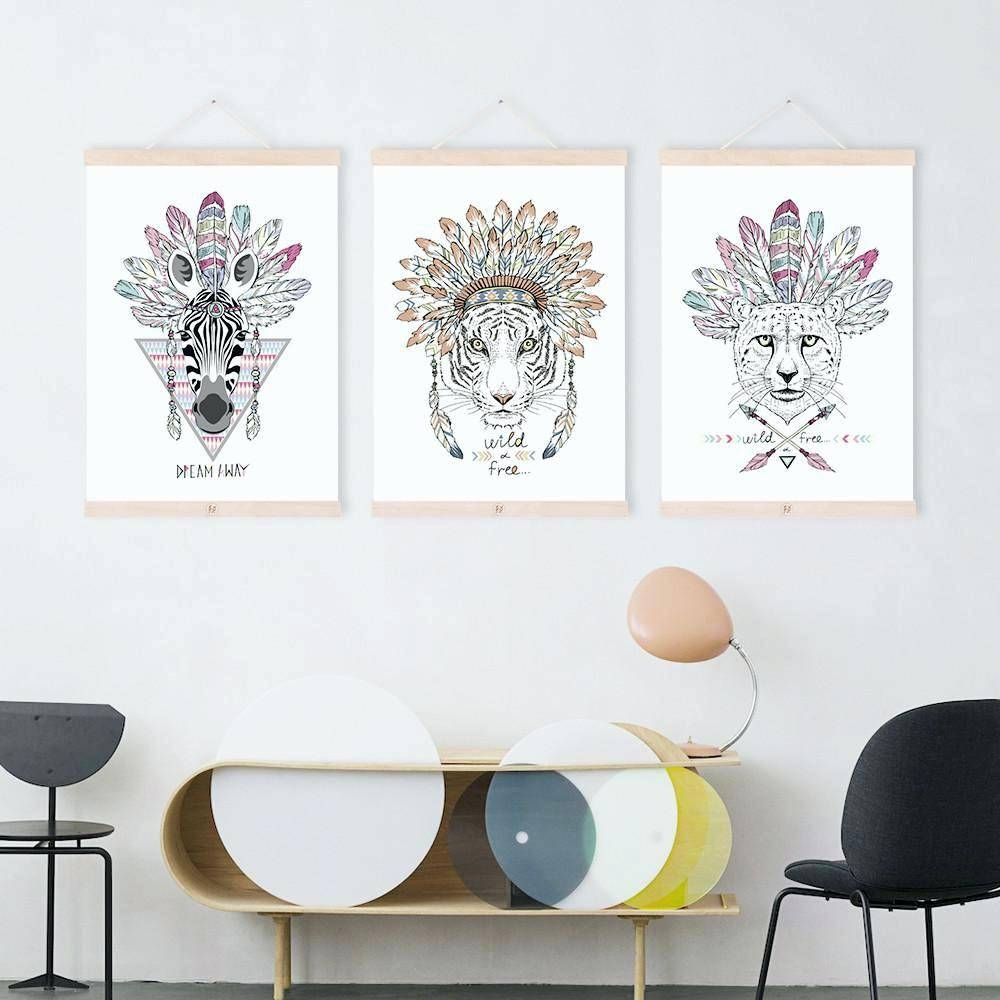 Wall Arts ~ Animal Wall Art Stickers Zoom Animal Metal Wall Art Uk With Regard To Newest Indian Metal Wall Art (View 14 of 20)