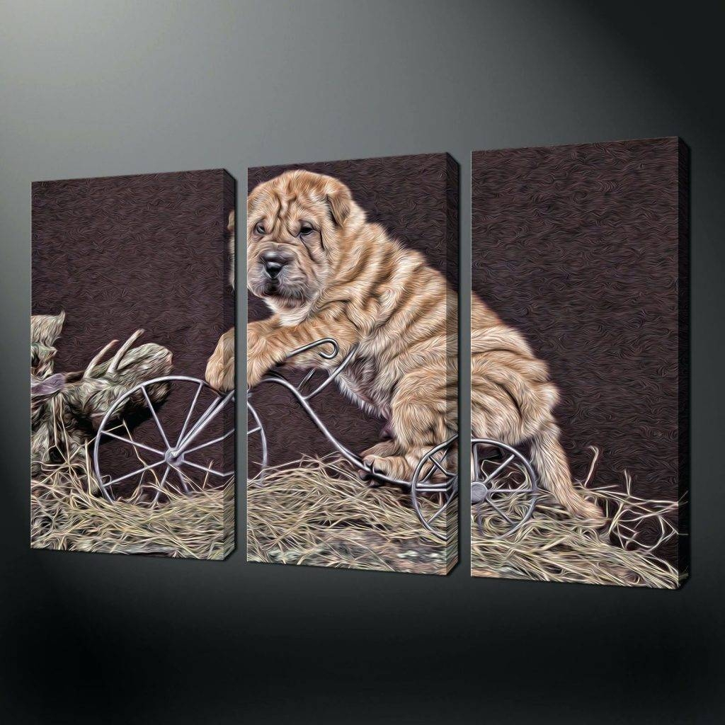 Wall Arts ~ Animals Cycling Wall Art Stickers Road Bike Wall Art Pertaining To Most Up To Date Metal Wall Art Animals (View 18 of 20)