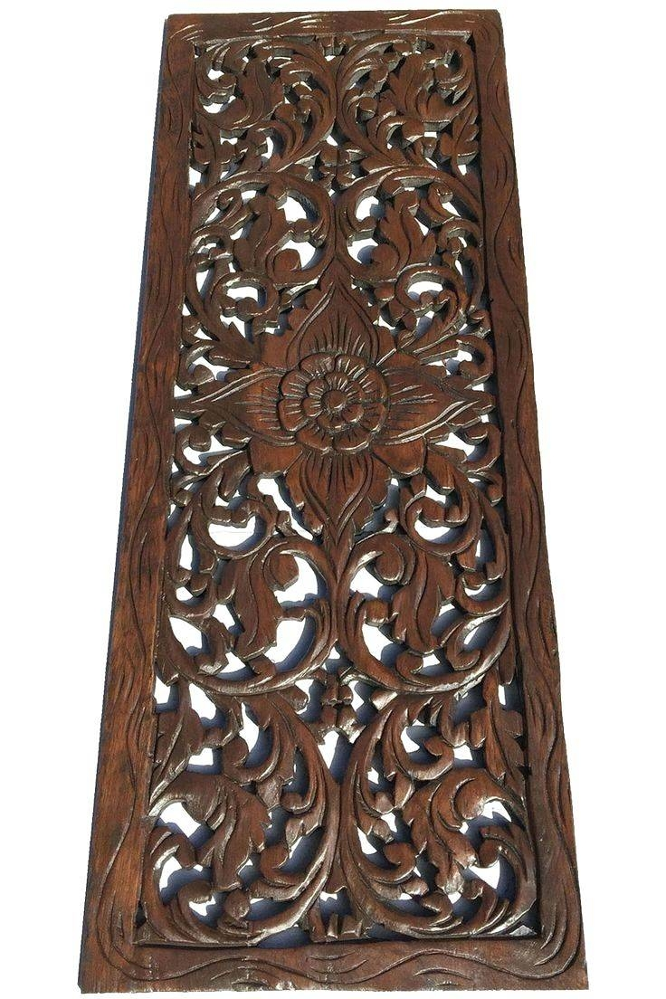 Wall Arts ~ Bali Wood Carving Wall Art Indonesian Wall Art Uk With Regard To Most Recently Released Bali Metal Wall Art (View 12 of 20)