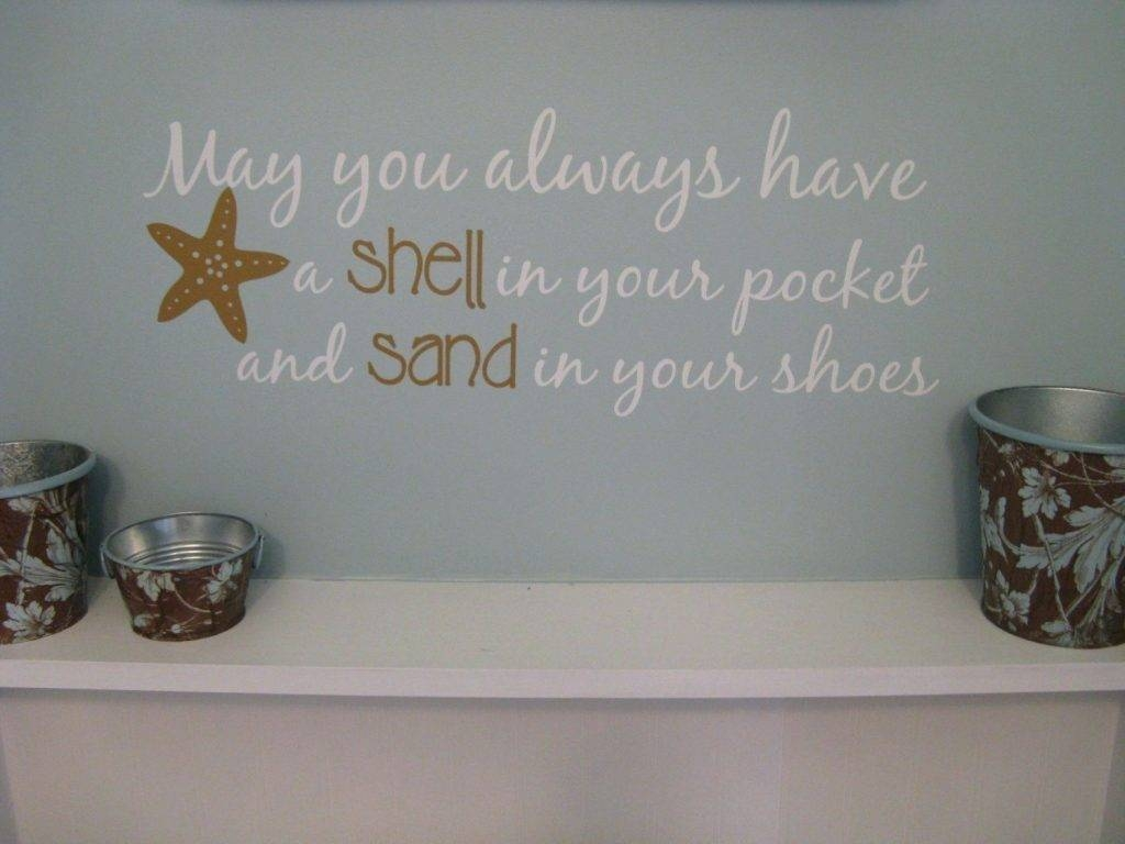 Wall Arts ~ Beach Decor Wall Art Beach Wall Art Australia Ideas Pertaining To Newest Beach Themed Metal Wall Art (View 3 of 20)