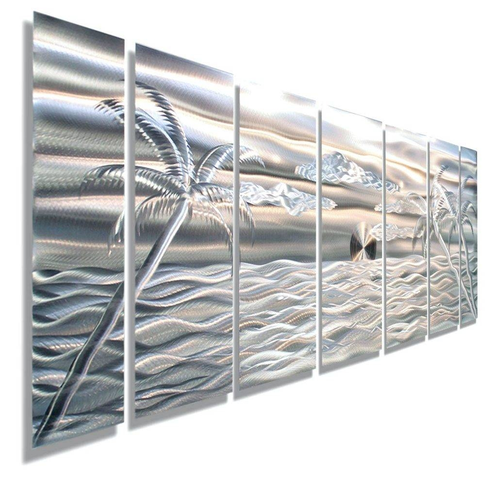Wall Arts ~ Beach Umbrella Metal Wall Art Beach Inspired Metal Throughout Most Recent Beach Themed Metal Wall Art (View 7 of 20)