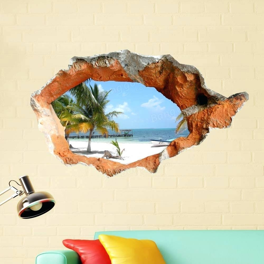 Wall Arts ~ Beach Wall Art Decor Metal Wall Art Beach Decor Ideas Throughout Newest Beach Themed Metal Wall Art (View 8 of 20)