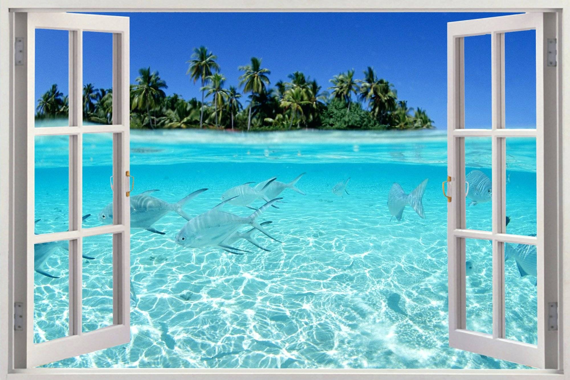Wall Arts ~ Beach Wall Art Ideas Beach Wall Art Stickers Image Intended For Most Recently Released Beach Metal Wall Art (View 16 of 20)