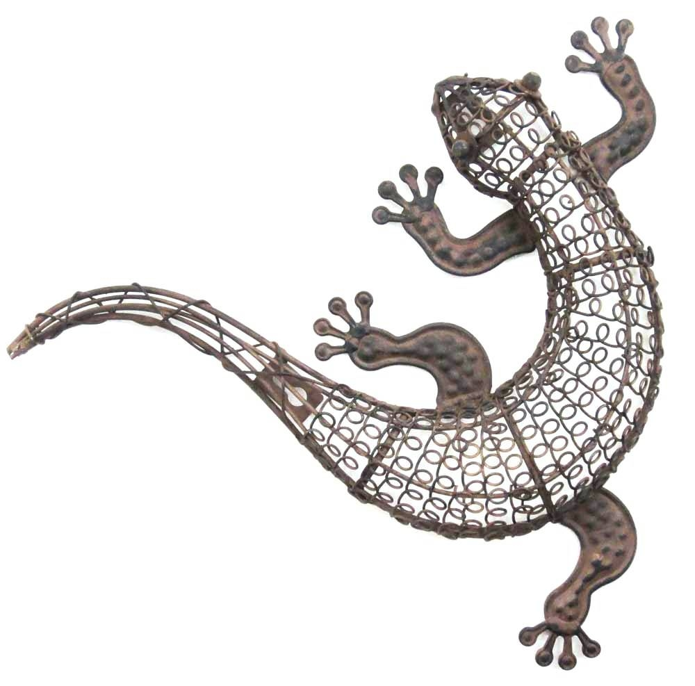 Wall Arts ~ Beautiful Gecko Lizards Southwest Wall Art Decoration Pertaining To 2018 Lizard Metal Wall Art (View 2 of 20)
