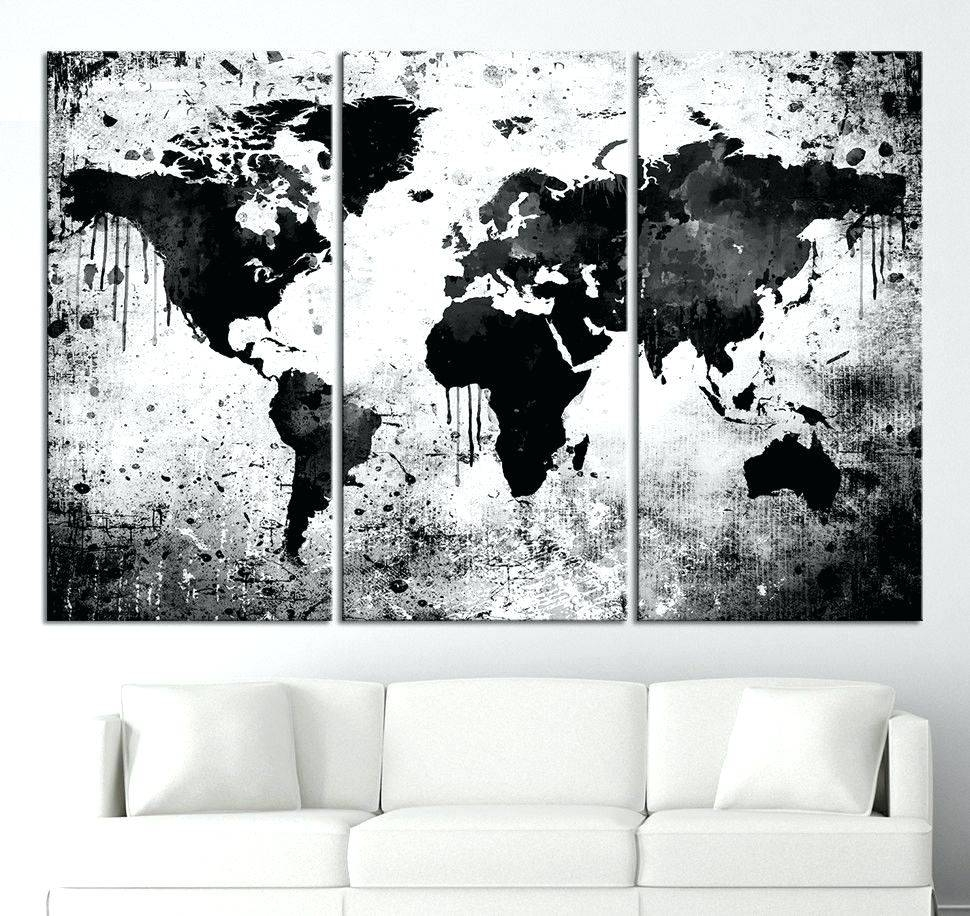 Wall Arts ~ Black And White Wall Art For Bathroom Black Metal Wall With Regard To Most Popular Black And White Metal Wall Art (View 18 of 20)