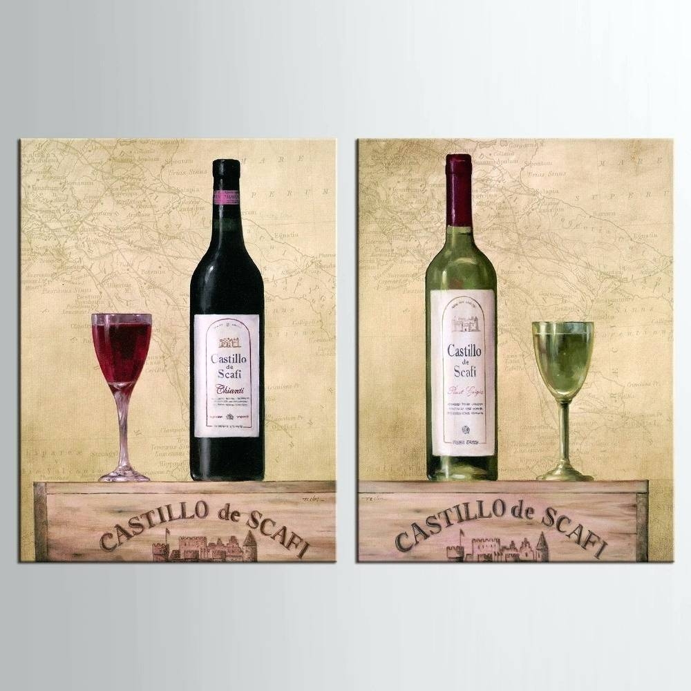 Displaying Gallery of Wine Bottle Metal Wall Art (View 8 of 20 Photos)