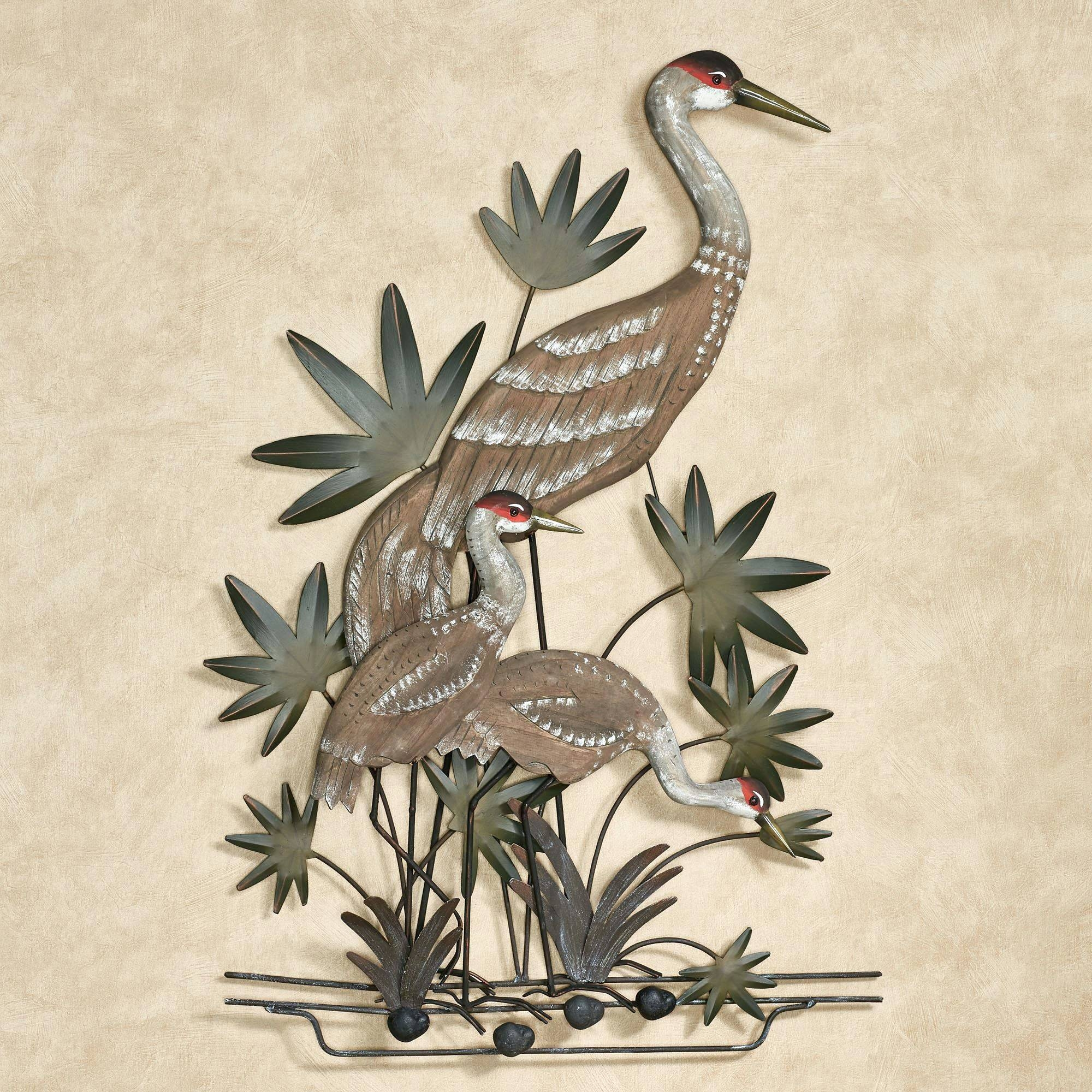 Wall Arts ~ Blue Heron Metal Wall Art Blue Flower Metal Wall Art For Recent Blue Heron Metal Wall Art (Gallery 12 of 20)