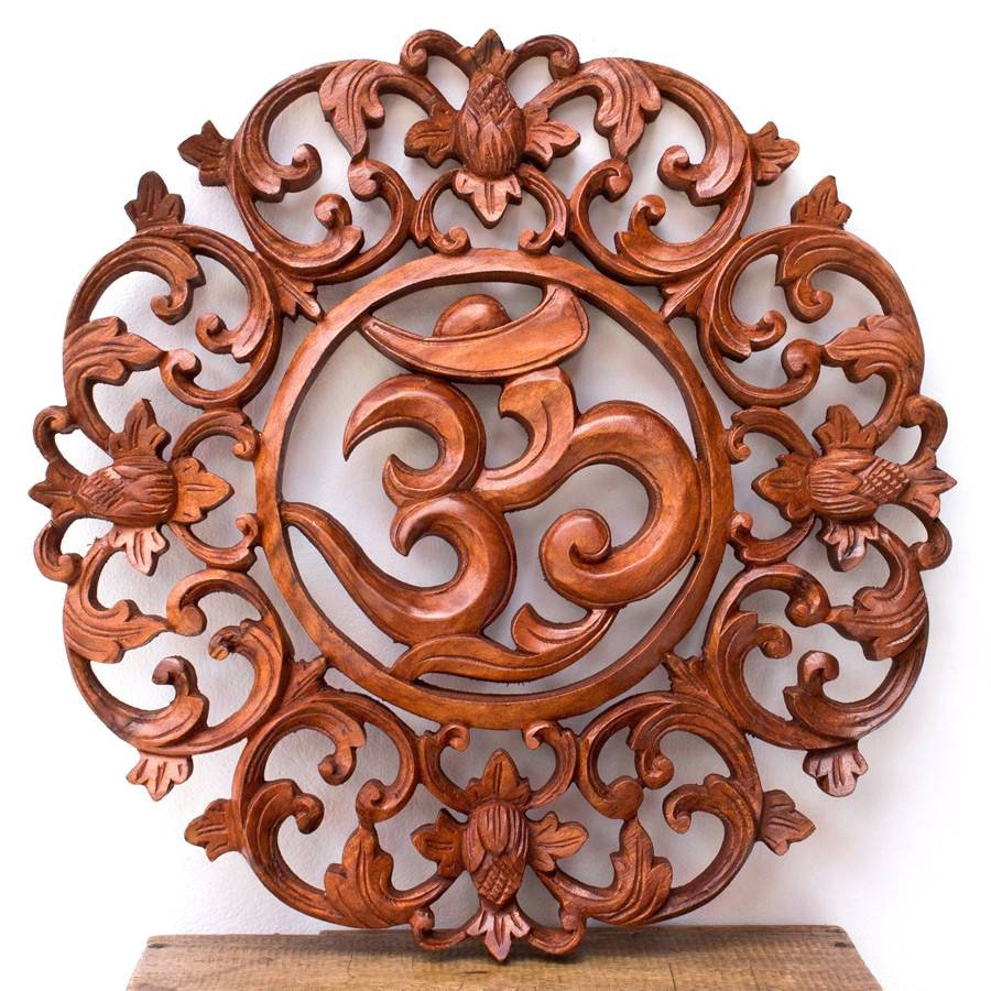 Wall Arts ~ Boat Wood Panel Boat Wood Panel Indonesian Carved Wall Throughout Most Popular Bali Metal Wall Art (View 7 of 20)