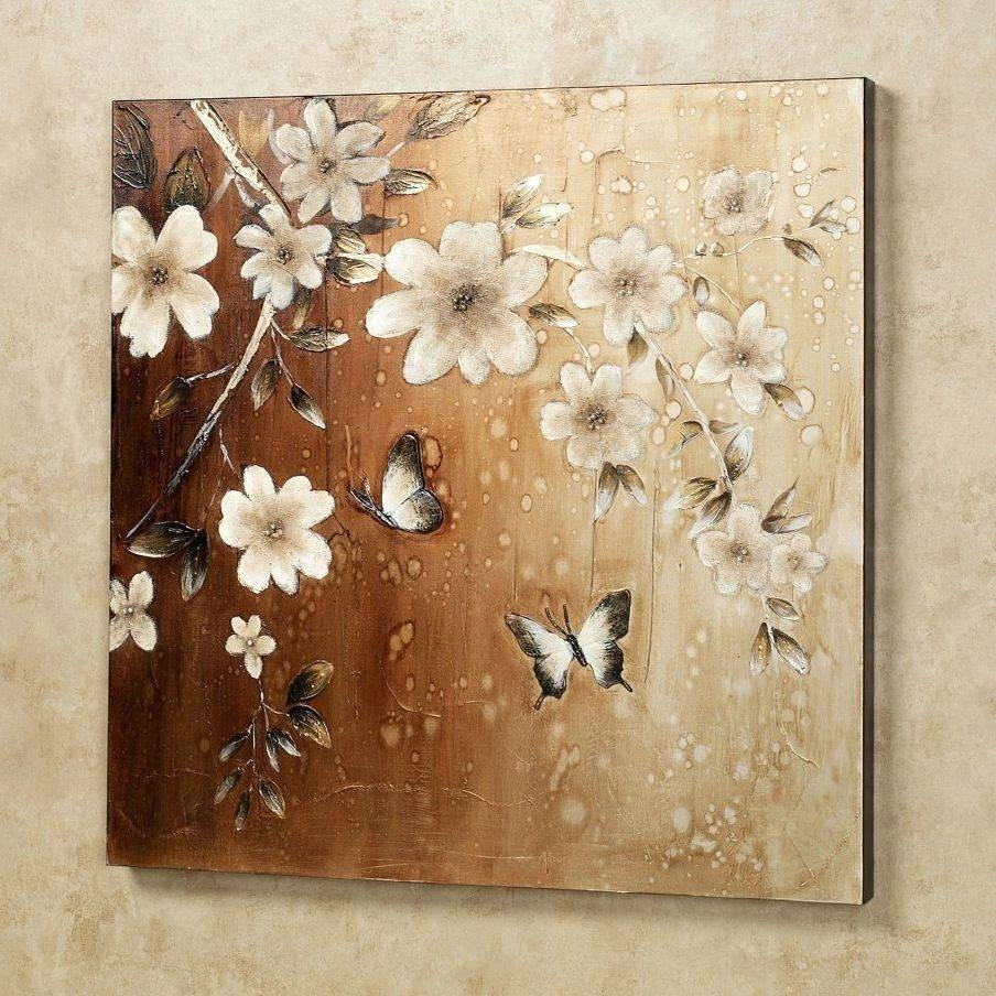 Wall Arts ~ Brown Wall Art Stickers Brown And White Canvas Wall Inside Most Recently Released Graham And Brown Metal Wall Art (View 15 of 20)