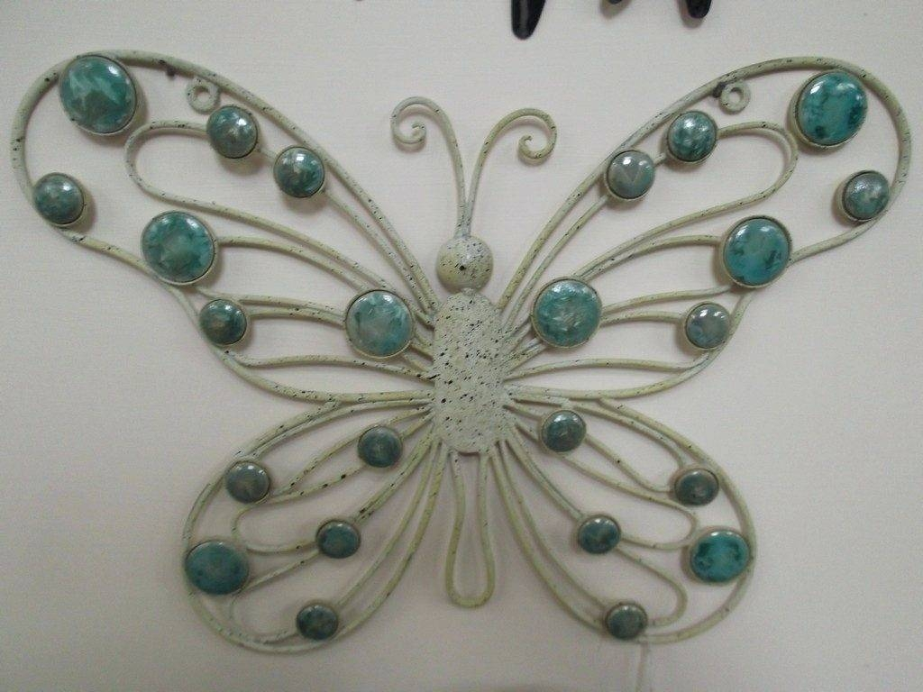 Wall Arts ~ Butterfly Garden Metal Wall Art Decor Sculpture Metal Throughout Current Butterfly Garden Metal Wall Art (View 18 of 20)