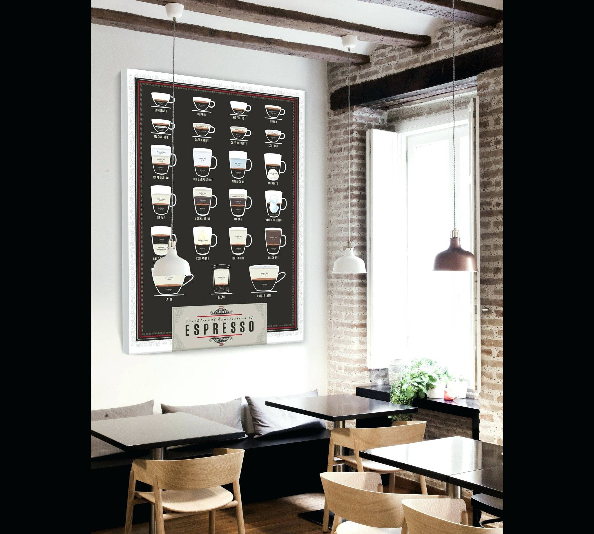 Wall Arts ~ Cafe Canvas Wall Art Metal Coffee Art Decor Cafe Wall With Regard To Latest Cafe Metal Wall Art (View 10 of 20)