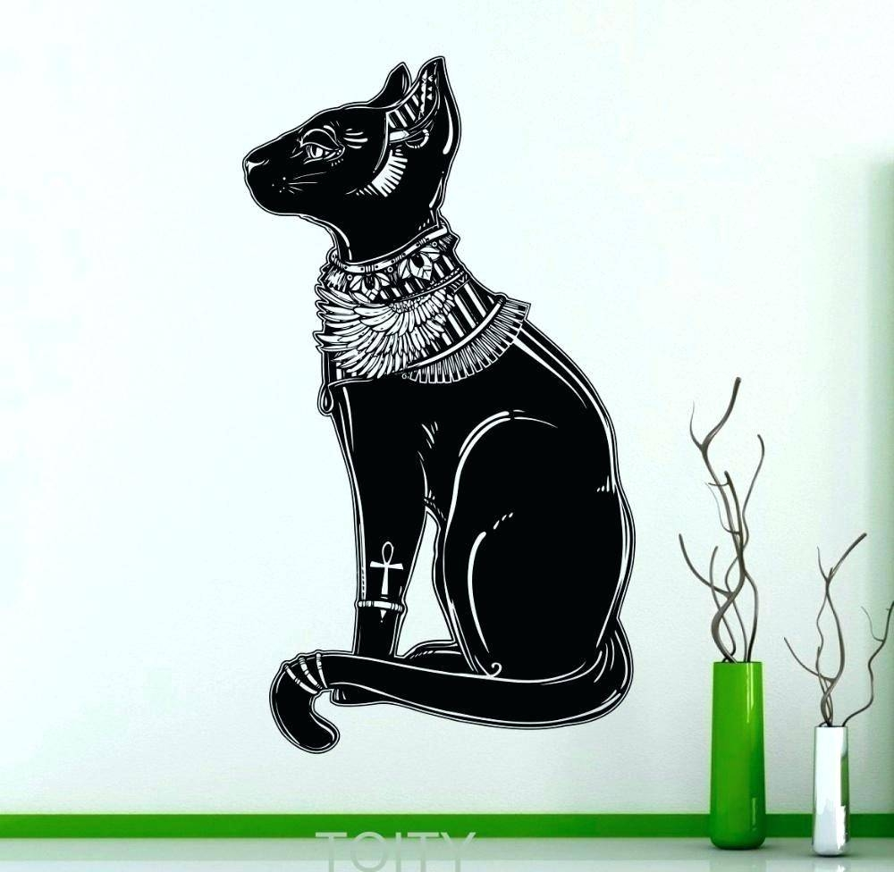 Wall Arts: Cat Wall Art. Black Cat Metal Wall Art (View 20 of 20)