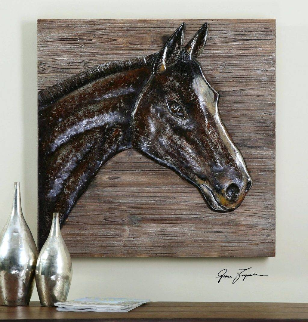 Wall Arts ~ Chic Rustic Metal Wall Art Rustic Wall Decor Awesome Pertaining To Newest Rustic Metal Wall Art (View 16 of 20)