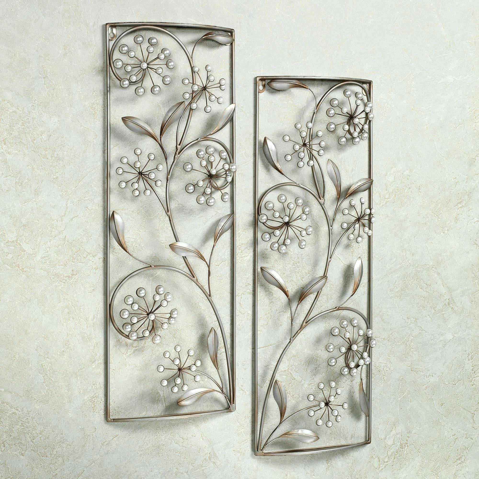 Wall Arts ~ Compact Metallic Wall Decor 9 Black And Silver Metal Intended For Most Up To Date Black And Silver Metal Wall Art (View 14 of 20)