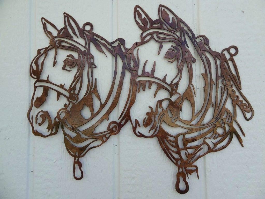 Wall Arts ~ Cool Metal Wall Art Wall Art Ideas Design Horse Head For Latest Cool Metal Wall Art (View 15 of 20)