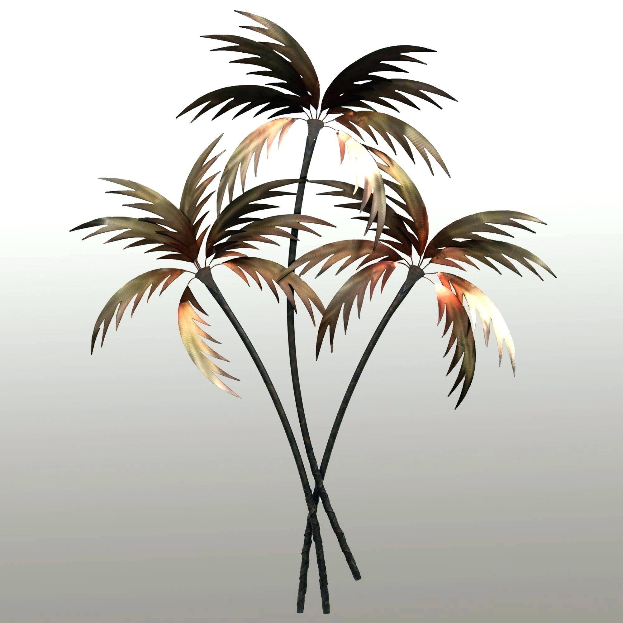 Wall Arts ~ Cool Palm Tree Wall Art Metal Family Tree Wall Art Diy For 2017 Metal Wall Art Palm Trees (View 4 of 20)
