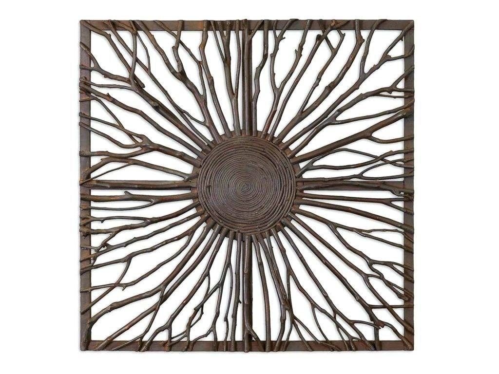 Wall Arts ~ Cool Square Black Metal Wall Art Wall Art Ideas Design Within Most Up To Date Black Metal Wall Art (View 16 of 20)