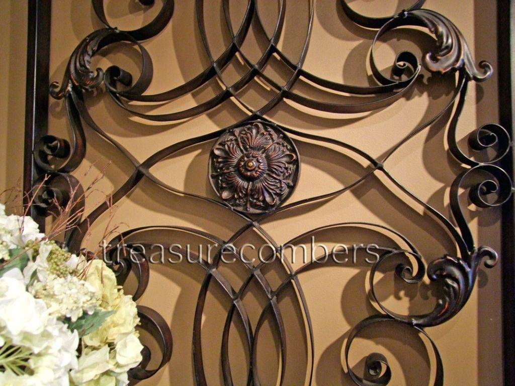Wall Arts Decorative Metal Screens Art Garden Uk In Newest Tuscan