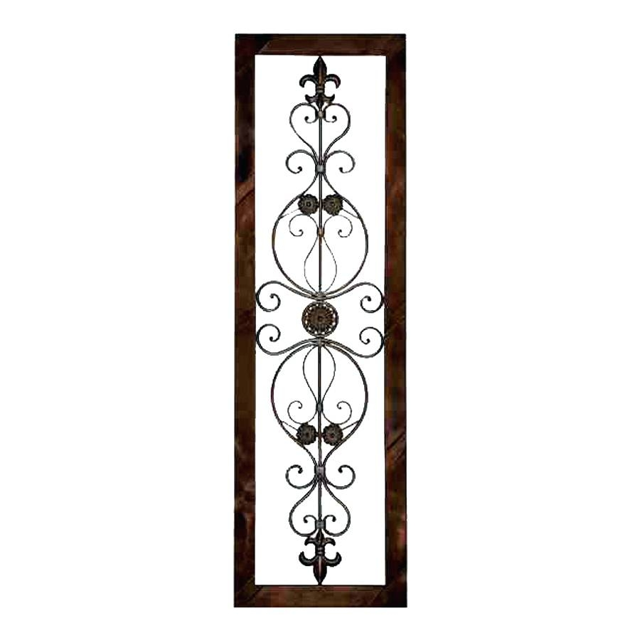 Wall Arts ~ Decorative Metal Wall Art Decorative Metal Wall Art With Most Popular Framed Metal Wall Art (View 18 of 20)