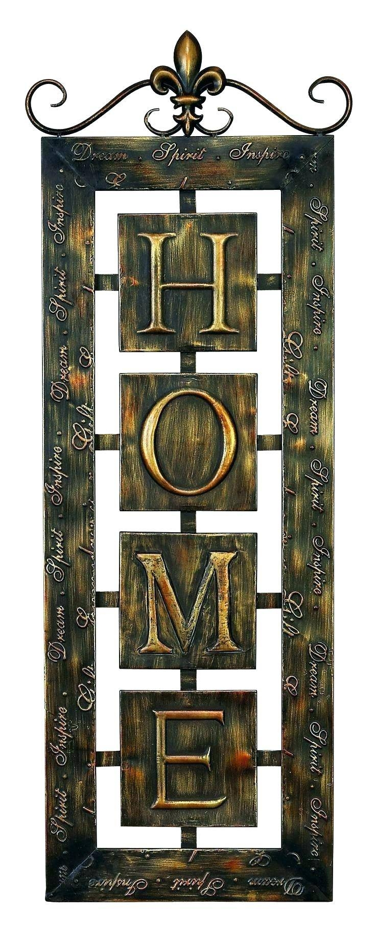 Wall Arts ~ Decorative Metal Wall Art Panels Modern Metal Wall Art Intended For Newest Sheet Metal Wall Art (View 14 of 20)