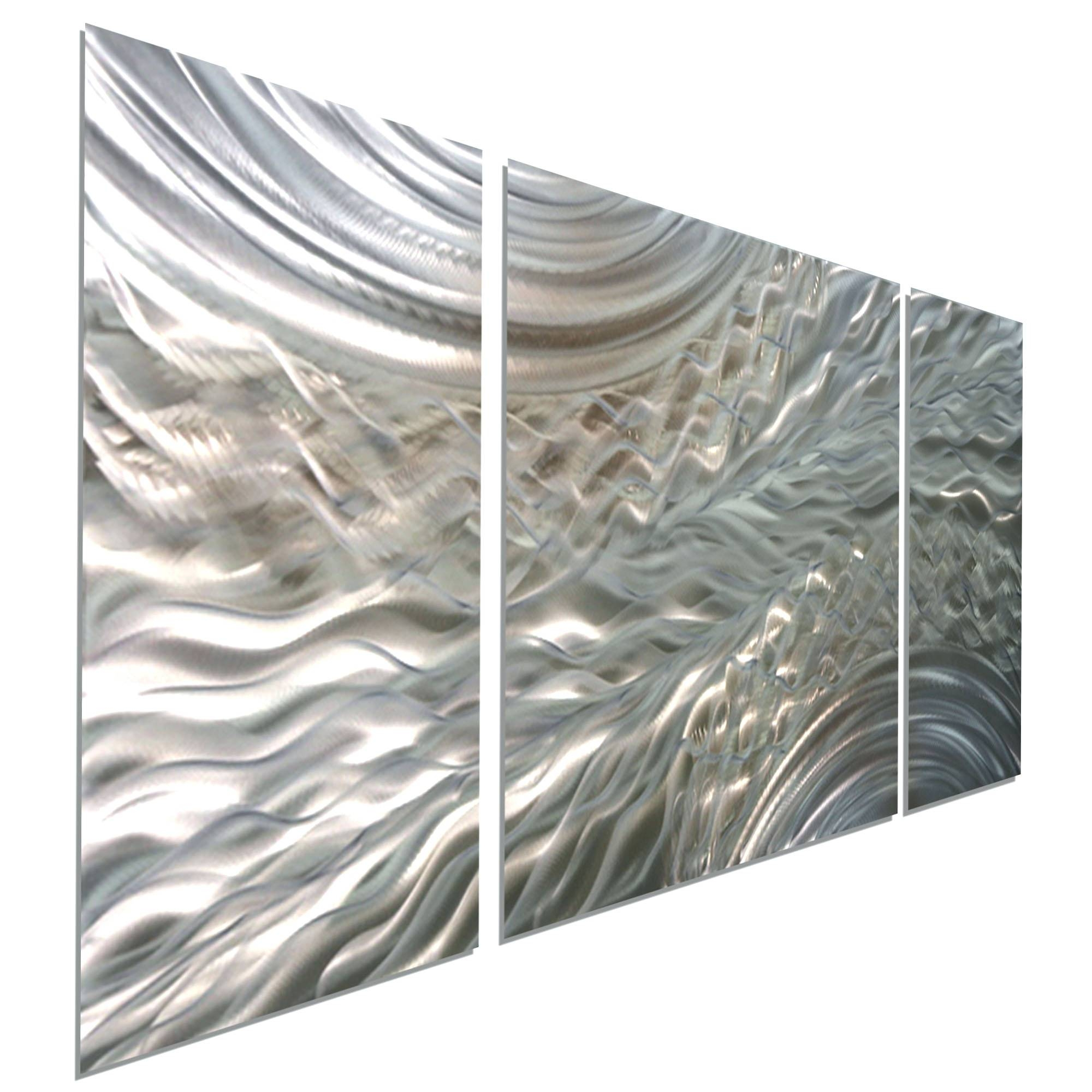 Wall Arts ~ Details Love Metal Wall Art Brushed Aluminum Wall Art Regarding Best And Newest Brushed Metal Wall Art (View 20 of 20)