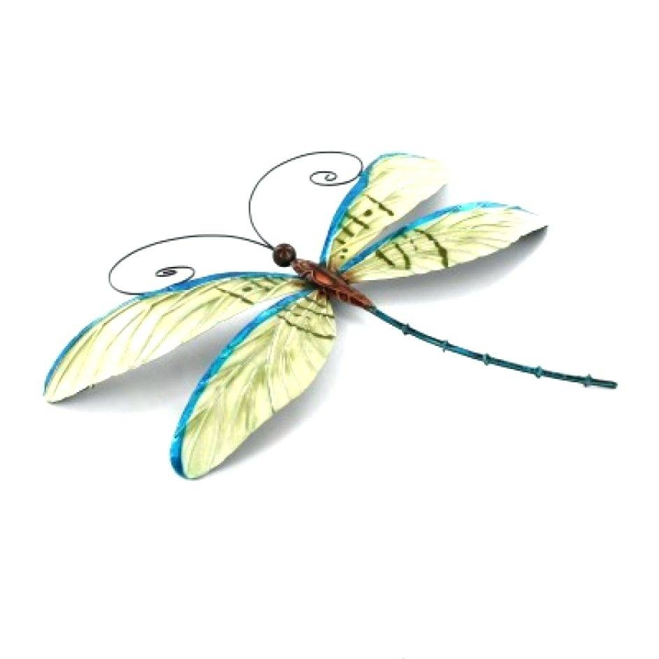 Wall Arts ~ Dragonfly Wall Decor Metal Design Dragonfly Wall Art Throughout Most Popular Dragonfly Metal Wall Art (View 18 of 20)