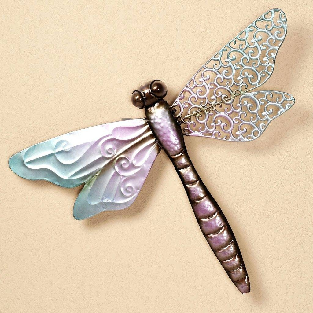 Wall Arts ~ Dragonfly Wall Decor Metal Design Dragonfly Wall Art With Best And Newest Dragonfly Metal Wall Art (View 14 of 20)