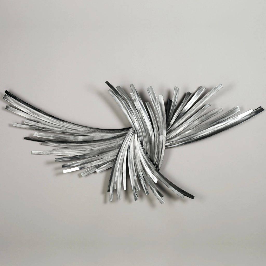 Featured Photo of Swirl Metal Wall Art