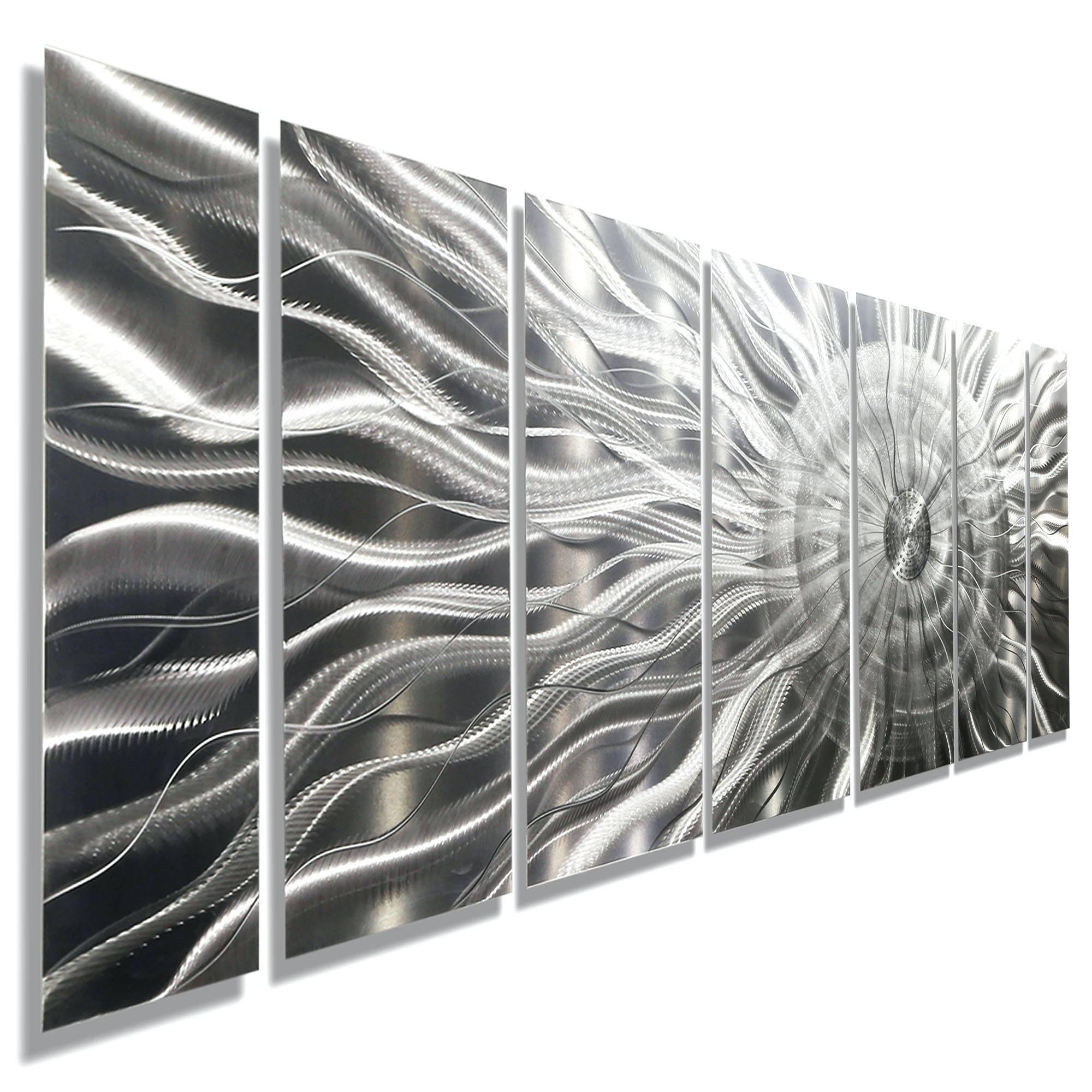 Wall Arts ~ Extra Large Metal Wall Art Abstract Metal Wall Art In Latest Contemporary Large Metal Wall Art (View 13 of 20)